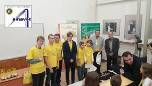 """Gymnázium vo Vranove na najväčšej robotickej súťaži na svete """"Fisrt Lego League"""""""