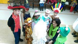 Boli masky, veľký bál, bol to super karneval