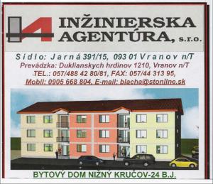 Výstavba nových bytov v Nižnom Kručove