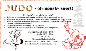 JUDO-olympijský šport!