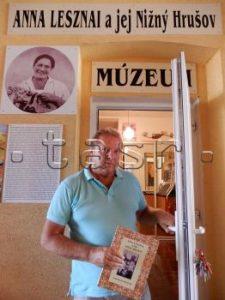 Nižný Hrušov inšpiroval maliarku, spisovateľku a političku Annu Lesznai
