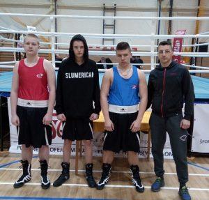 Boxerský klub SM z Vranova v 2.kole II. Slovenskej ligy boxu v Košiciach