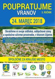 VRANOV: Obyvatelia budú opäť spoločne upratovať mesto