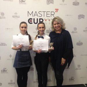 Zlato a striebro na 3. ročníku MASTER CUP 77 Bratislava 2017