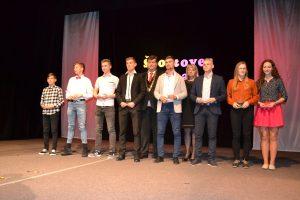 Primátor ocenil najúspešnejších športovcov a športové kolektívy mesta Vranov nad Topľou za rok 2016 + video