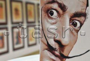 Nižný Hrušov: V aukčnej sieni vystavujú diela svetoznámeho Salvadora Dalího