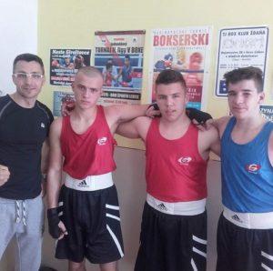 """Boxerský klub MS na akcii """"Ring mladých"""" v Giraltovciach"""