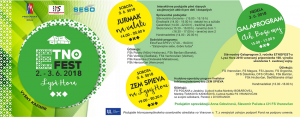 Vo Vyšnom Kazimíri sa uskutoční 3. ročník festivalu tradičnej ľudovej kultúry ETNO FEST 2018