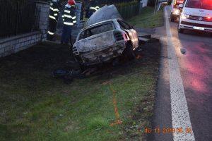 Pri dopravnej nehode v Benkovciach vyhasol jeden ľudský život